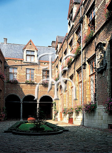 ANTWERP, the Maagdenhuis orphant house, Lange Gasthuisstraat 33