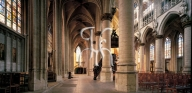 BRUSSELS, church of the Sablon