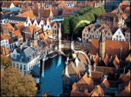 Bruges, Panorama from Belfry