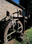 The paddlewheel of the mill of Asselborn